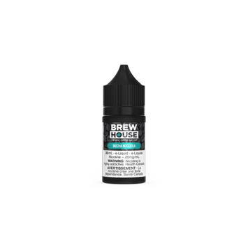 Mocha Nocciola by Brew House Salt - 30mL - Summit Vape Co.