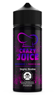 Boysenberry by Crazy Juice - 100mL - Summit Vape Co.