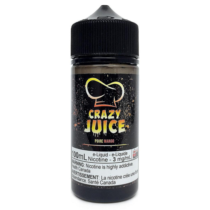 Pear Mango by Crazy Juice - 100mL