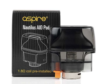 Aspire Nautilus AIO Pod 4.5 ml - Summit Vape Co.