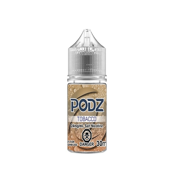 Tobacco by Podz - 30mL - Summit Vape Co.