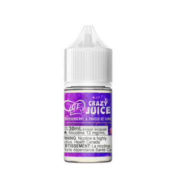 Boysenberry Ice by Crazy Juice Salt - 30mL - Summit Vape Co.