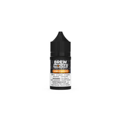 Caramello Macchiato by Brew House Salt - 30mL - Summit Vape Co.