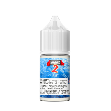 Chvmpvgne V2 Ice by Crazy Juice Salt-30ml - Summit Vape Co.
