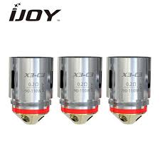 Captain X3/Avenger/Diamond C3 Coils, 0.2 ohm (3 Pack) by iJoy - Summit Vape Co.