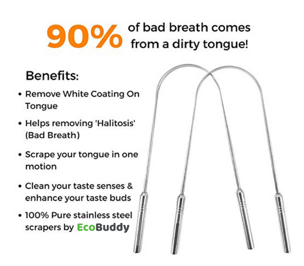 Ecobuddy Tongue Cleaner