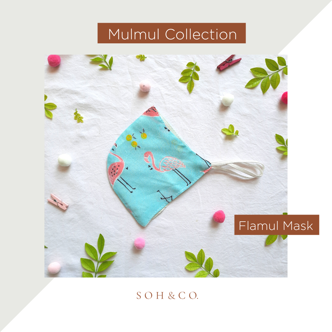SOH & CO. MULMUL COLLECTION FLAMUL MASK