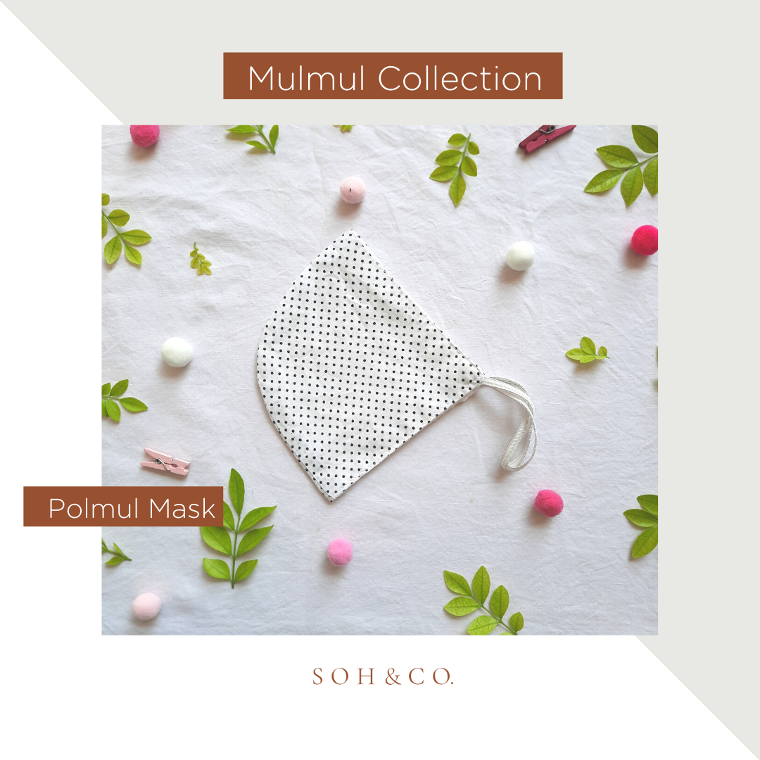 SOH & CO. MULMUL COLLECTION POLMUL MASK