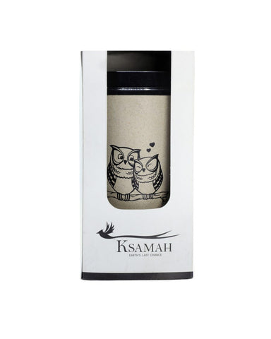KSAMAH Ecological coffee cup - Owl