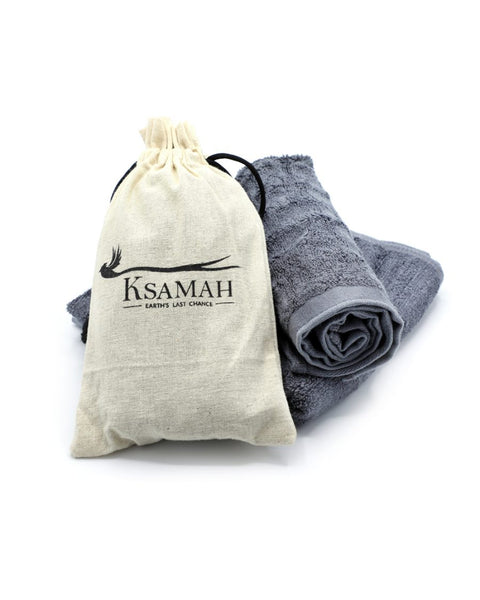 KSAMAH Ecological Bamboo Gym Towel & Hand towel