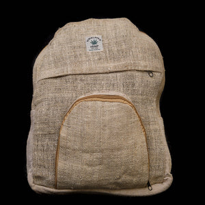 Pouchful All Hemp 15 inch Backpack (Plain)