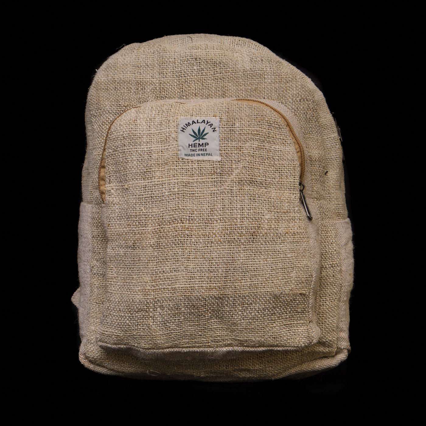 Pouchful All Hemp 14 inch Backpack (Plain)