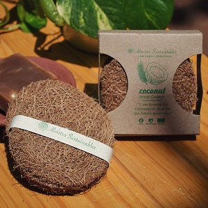 Coconut Fiber Coir Scrub (Pack of 10)
