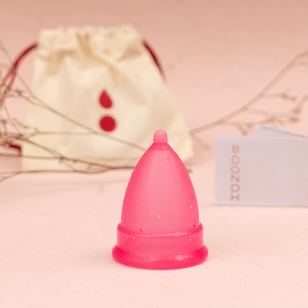 Boondh Menstrual Cup (Red Tint)