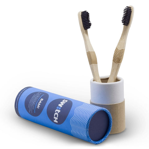 The Switch Fix Bam! Bamboo Toothbrush (Pack of 2)