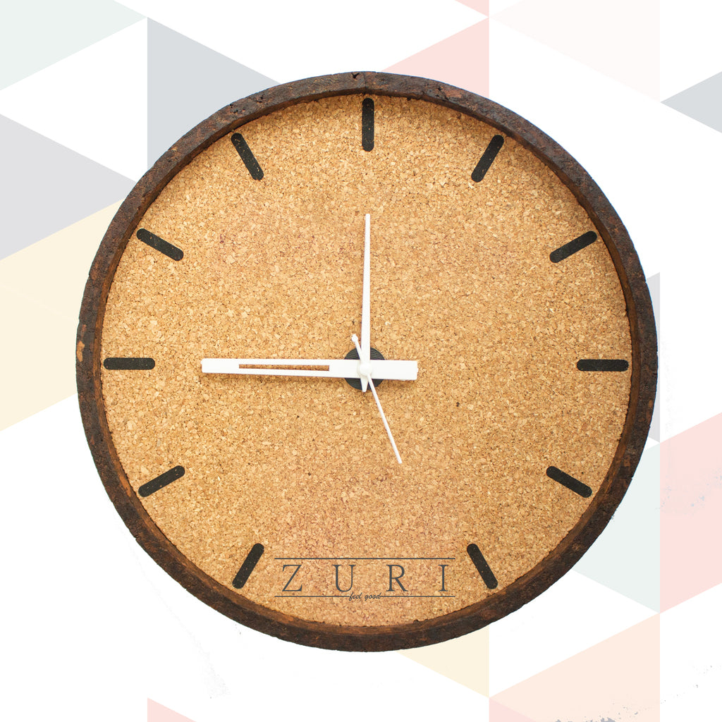 ZURIFEELGOOD CORK CLOCK
