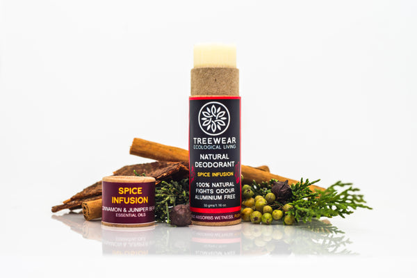 TREEWEAR Spice Infusion Natural Deodorant