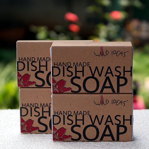 Dish Wash Bar Soap (Pack of 4 X 100 gms)
