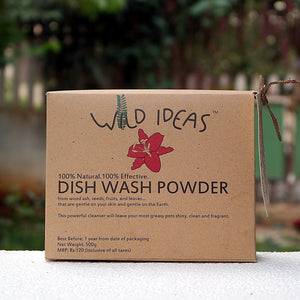 Wild Ideas Dishwash Powder - 500 gms