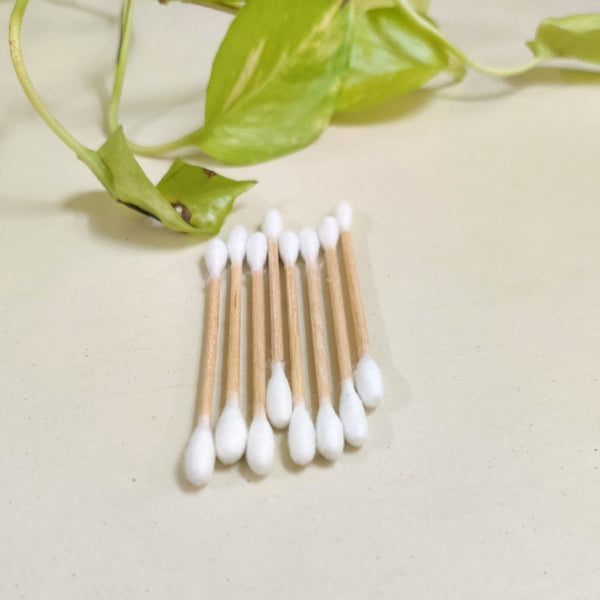 Bamboo Earbuds/ Ear Swabs - Pack of 100