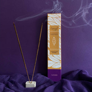 Esscent- Lavender Premium Flower-based Incense Sticks