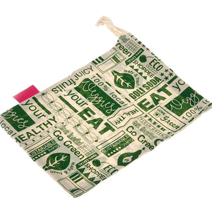 GOLI SODA Go Green Reusable Cotton Vegetable Bag - Big