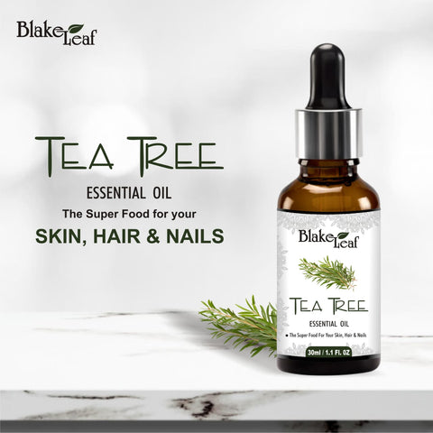 Tea Tree essential oil for skin, hair and nail.