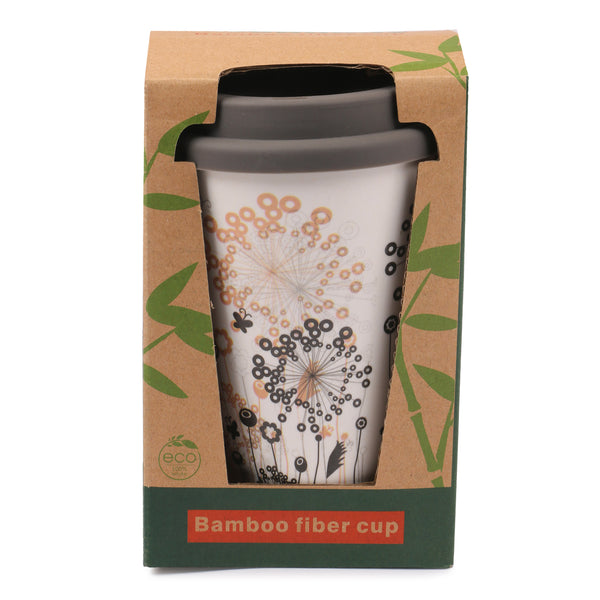 Bamboo travel cup