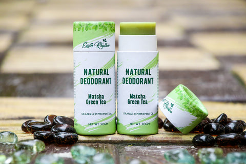 NATURAL DEODORANT - MATCHA GREEN TEA EXTRACTS