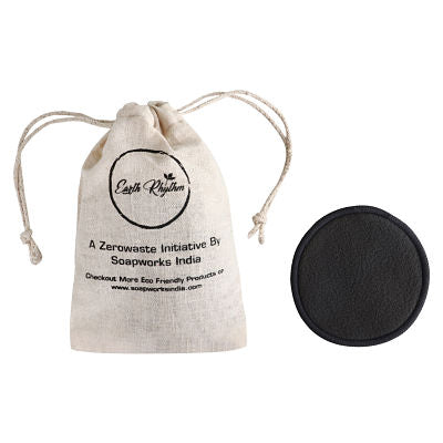 CHARCOAL BAMBOO COTTON FACIAL PADS