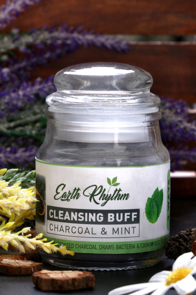 CHARCOAL MINT CLEANSING BUFF