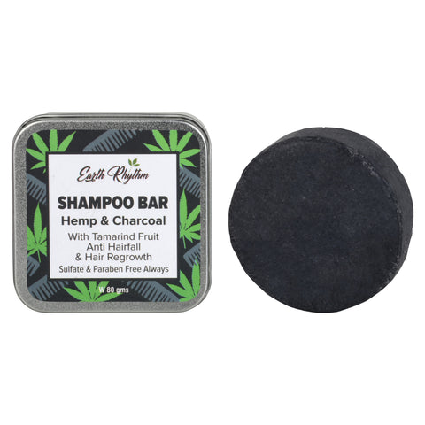 HEMP & CHARCOAL SHAMPOO BAR
