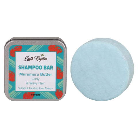 MURUMURU BUTTER SHAMPOO BAR - CURLY & WAVY HAIR