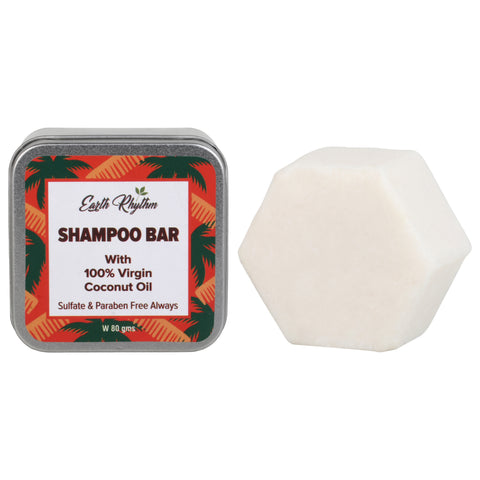 100% VIRGIN COCONUT OIL SHAMPOO BAR