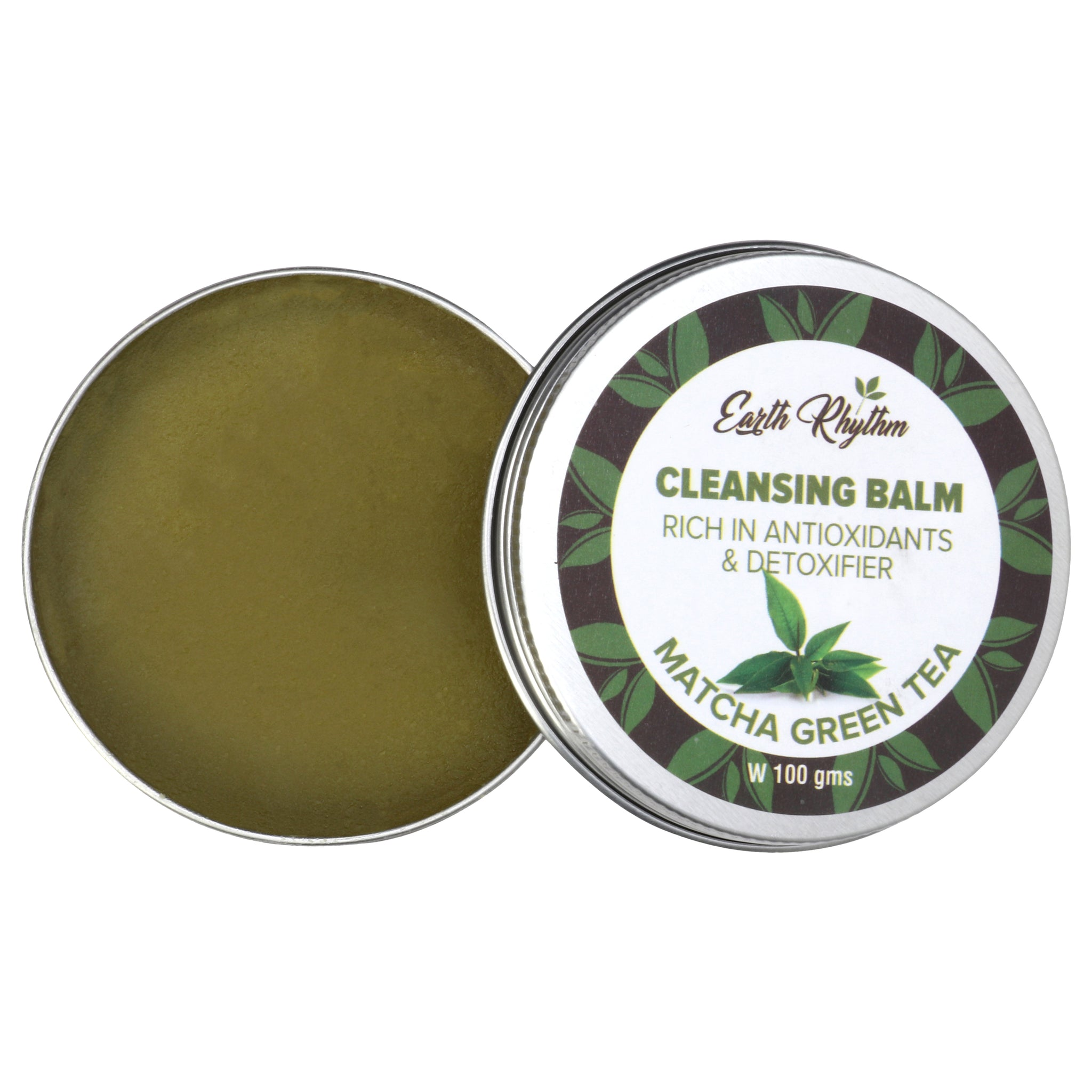 NOURISHING CLEANSING BALM WITH MATCHA GREEN TEA