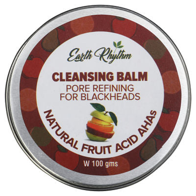 PORE REFINING CLEANSING BALM WITH NATURAL FRUIT ACIDS, AHAs