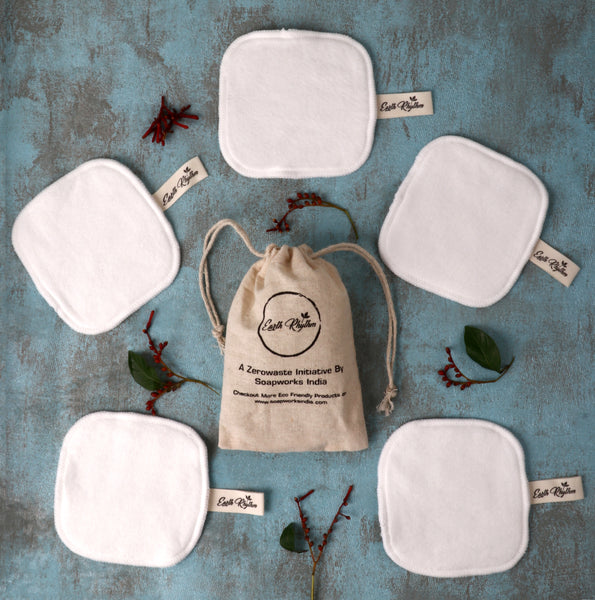 BAMBOO COTTON FACIAL PADS