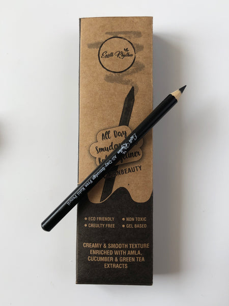 ALL DAY SMUDGE FREE KOHL EYELINER - KOHL PENCIL + SHARPENER