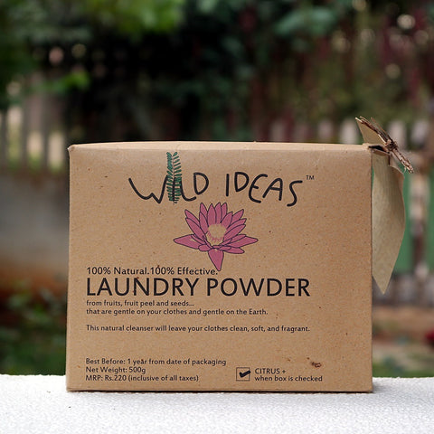 Wild Ideas Laundry Powder - 500 gms