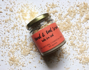 Natural Peppermint Hand & Foot Scrub