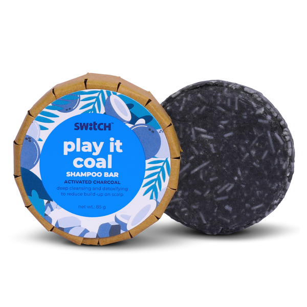 The Switch Fix Play It Coal Shampoo Bar