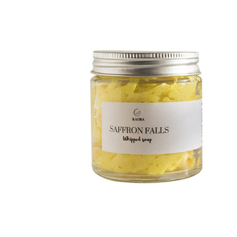 Saffron Falls Whipped Soap