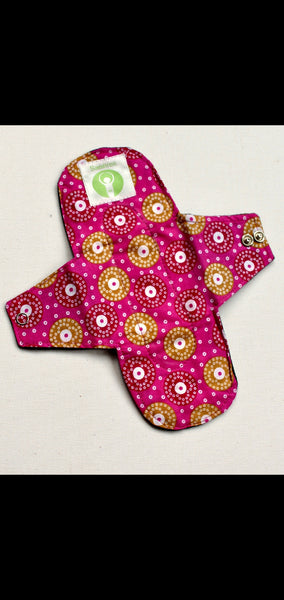 Reusable clothed pad (medium) single