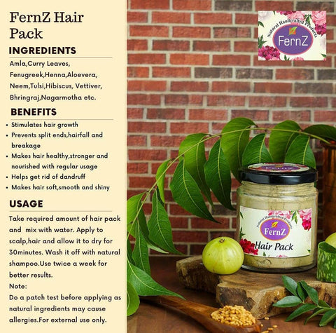 Fernz Natural Hair Pack