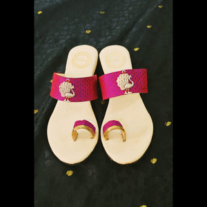 Blinkgreen ethnic sandals - Pink