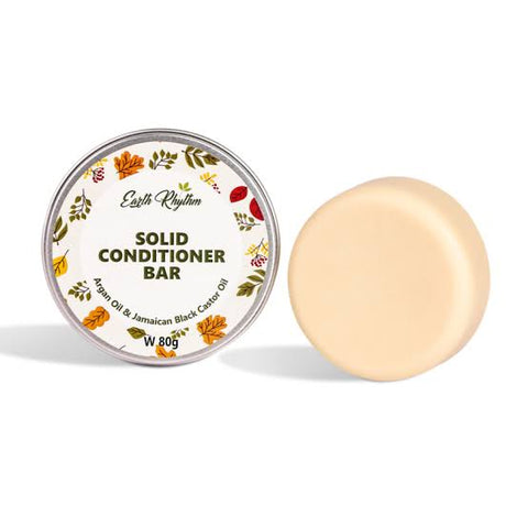 SOLID CONDITIONER BAR WITH ARGAN & CASTOR OIL