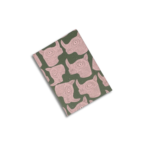 Tree Free Notebook A5 save rhino print