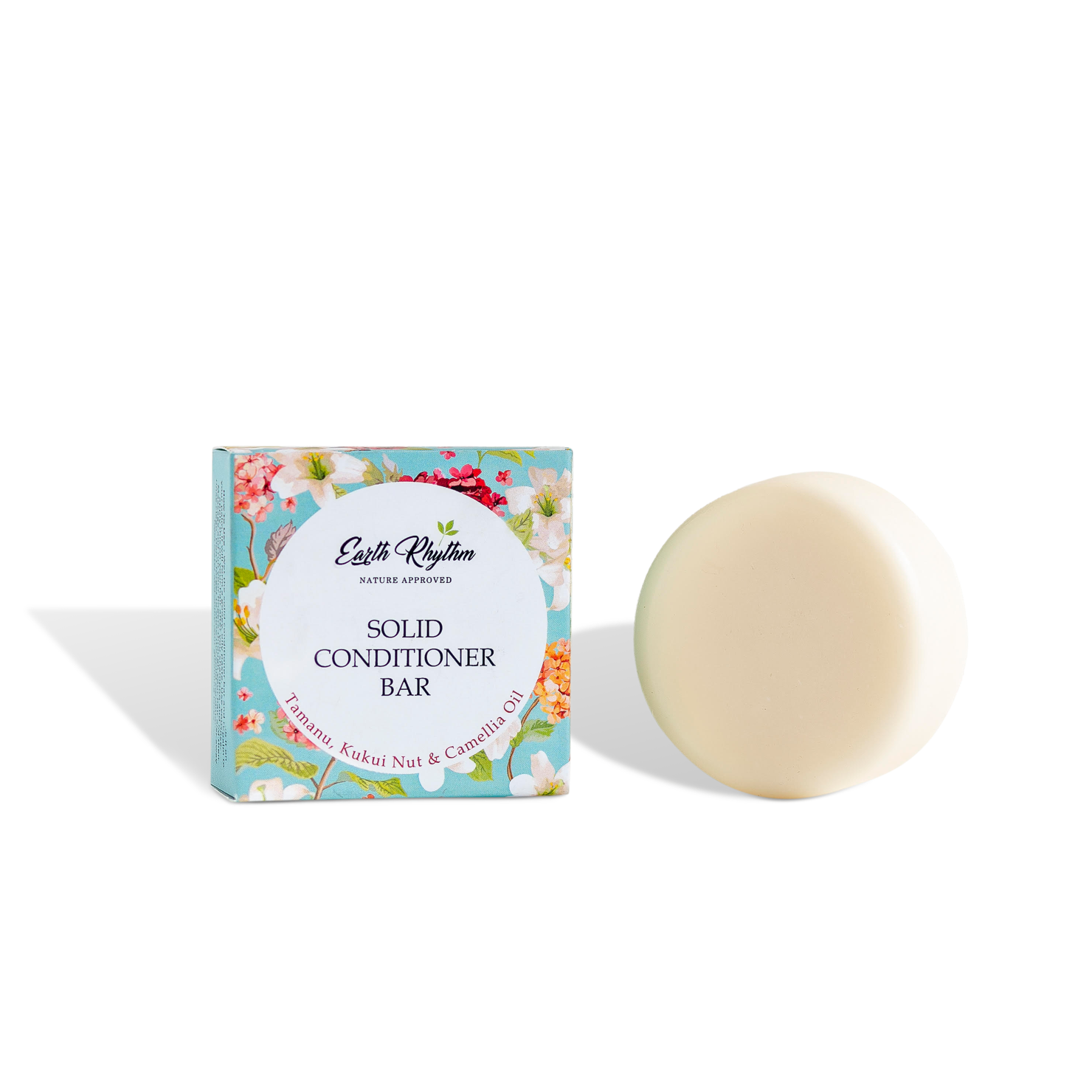 SOLID CONDITIONER BAR - TAMANU, KUKUI NUT & CAMELLIA OIL -WITHOUT TIN