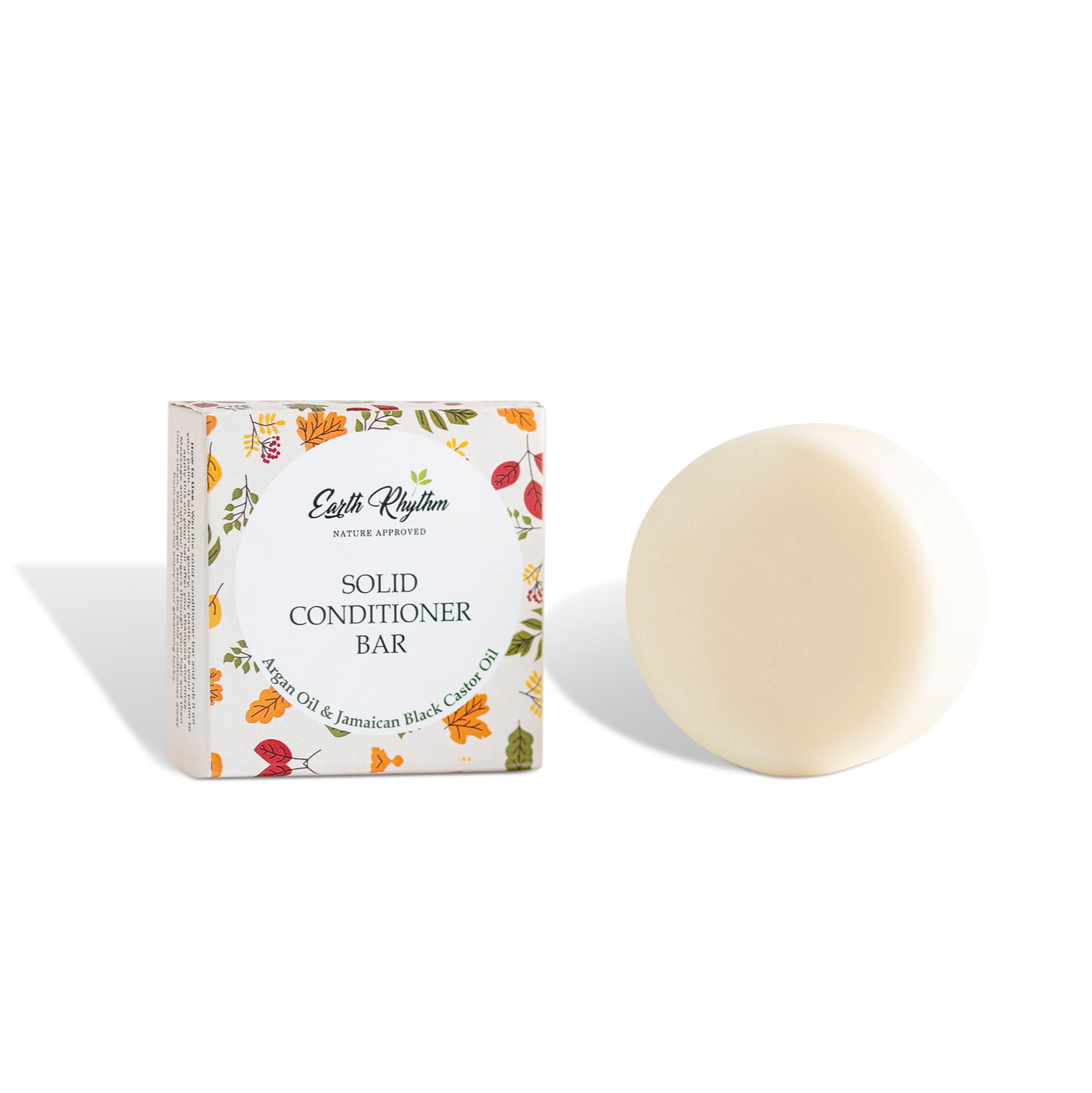 SOLID CONDITIONER BAR - ARGAN & BLACK CASTOR OIL - WITHOUT TIN