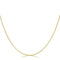 18 Inch Golden Snake Chain - Necklaces - KA Designs Online